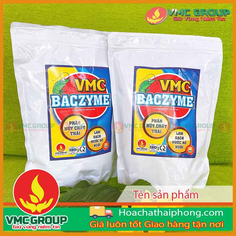 VMC BACZYME Phân hủy chất thải, làm sạch nước ao nuôi